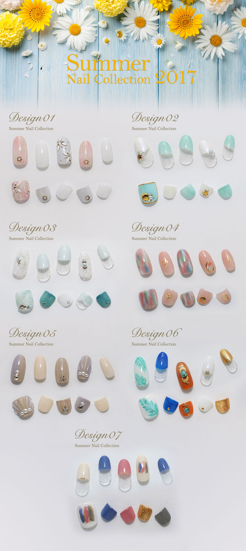 Summer Nail Collection 2017